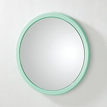 HAKU Möbel 42689 Wandspiegel 2 x 38 cm, mintgrün