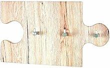 Haku-Möbel 42925 Wandgarderobe, 34 x 5 x 20 cm,