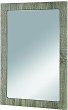 HAKU Möbel 89720 Wandspiegel 40 x 2 x 60 cm, eiche trüffel