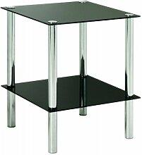 HAKU Möbel 90538 Beistelltisch 39 x 39 x 47 cm,