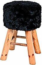 HAKU Möbel Hocker, 30 x H: 45 cm, schwarz