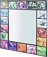 HAKU Möbel Wandspiegel, 3 x 65 x H: 75 cm, vintage