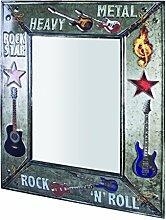 HAKU Möbel Wandspiegel, 5 x 56 x H: 70 cm, vintage