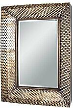 HAKU Möbel Wandspiegel kupferfarben, 60 x 7 x 80