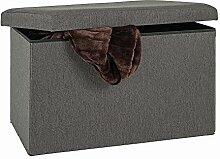 Haku Sitzbox Faltbox Grigio 15102 Stoff Anthrazit