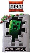 Halantex Dynamite Minecraft Bettwäsche Kinder