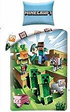 Halantex Minecraft Bett Set Kakteen die rennen