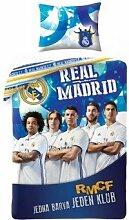 Halantex Real Madrid 140x200+1x70x90 Bettwäsche Se
