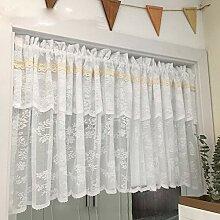 Halbe Küchenvorhänge Kurzer Vorhang gardinen