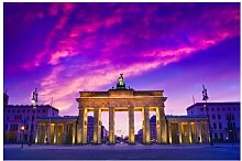 Halbglänzende Tapete Das ist Berlin East Urban