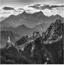Halbglänzende Tapete Die große chinesische Mauer
