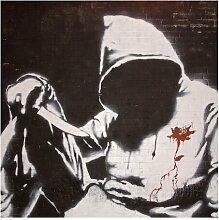 Halbglänzende Tapete Graffiti Ghetto Lifestyle
