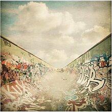Halbglänzende Tapete Graffiti-Skatepark East