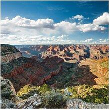 Halbglänzende Tapete Natur des Canyons East Urban