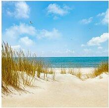 Halbglänzende Tapete Strand an der Nordsee Strand