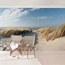Halbglänzende Tapete Strand Ostsee East Urban