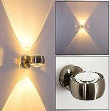 Halbrunde Wandlampe für das Wohnzimmer -