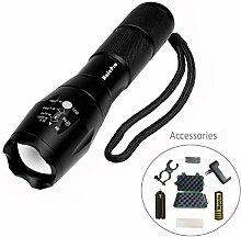 Halepro – Taschenlampe Taschenlampe LED T6 –