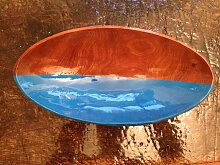 Half Blue Eyed Schale von Markus Friedrich Staab,