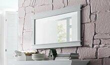 Halifax Landhausmöbel Wandspiegel Weiß 120 cm