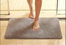 Halle Fußmatten Badteppiche Bad Bad Matten Bad Türmatten Badematten Absorbent Teppich Türmatten in die Tür Matten Badezimmer Teppich WC Matten ( größe : 45*70cm )