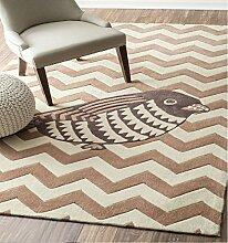 Halle Fußmatten Badteppiche Europäische Geometrische Teppich Wohnzimmer Couchtisch Dicke Teppich Nachttisch Matratze Rechteckige Home Matratze Custom Carpet Badezimmer Teppich WC Matten ( farbe : #8 , größe : 140*200CM )