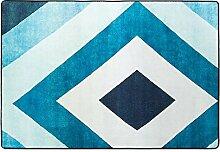 Halle Fußmatten Badteppiche Europäischer Teppich Einfacher Zuhause-Kaffeetisch-Teppich Einfacher und dicker Bedside Matratze Foyer Matten Badezimmer Teppich WC Matten ( farbe : #1 , größe : 120*180cm )