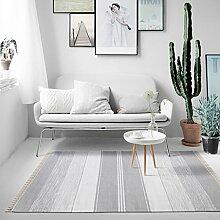 Halle Fußmatten Badteppiche Europäischer Teppich Wohnzimmer Kaffeematten Schlafzimmer Bett voller Decken Moderner einfacher Teppich Foyer Matten Nordic Fashion Teppich Badezimmer Teppich WC Matten