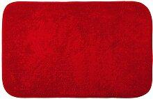 Halle Fußmatten Badteppiche küche und badezimmer aus champagner Badezimmer Teppich WC Matten ( Farbe : Rot )