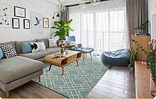 Halle Fußmatten Badteppiche Moderner einfacher Teppich Wohnzimmer Kaffeematten europäischer Stil Foyer Teppich Mode Matratze Couchtisch Wohnzimmer mit modernen minimalistischen Teppichen europäischen Teppich Badezimmer Teppich WC Matten ( Farbe : #7 )