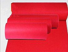 Halle Fußmatten Badteppiche Western-Stil Hochzeit Teppich Show Matten Hochzeit Backing Teppich Polyester Red Mats Hochzeit einmalige Tür Matte Badezimmer Teppich WC Matten ( größe : 1.0*20m )
