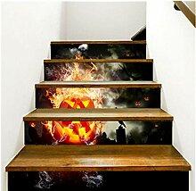Halloween 3D Treppe Aufkleber