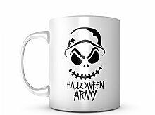 Halloween Army Keramik Tasse Kaffee Tee Becher Mug