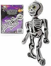 Halloween Aufblasbare Raum Party Dekoration Großer Geist Fledermaus Kürbis Skelett Hexe - Aufblasbares Skelett 68cm