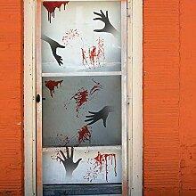 Halloween Blutfleck Dekoration Wandaufkleber