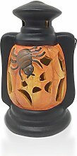 Halloween Decor CO. Multicolor LED Clay Kürbis