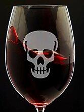 Halloween-Deko-Weinglas Halloween-Glas