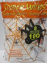 Halloween Dekoration: 100Quadratmeter Spider Web von dolgencorp