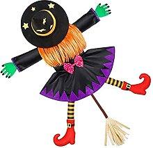Halloween, der die Hexe in dem unheimlichen