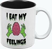 Halloween, ich meine Gefühle Zombie Gehirn aller
