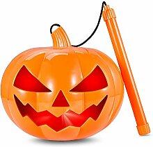 Halloween Kürbis Windlicht Laterne14cm