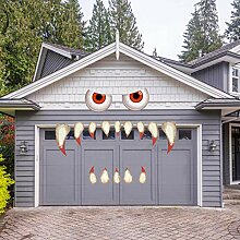 Halloween-Monster-Gesichtsdekorationen,