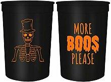 Halloween-Partybecher – Set mit 12
