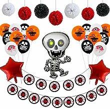 Halloween-Partydekorationen, hängende Ornamente,