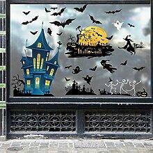 Halloween statische Wandaufkleber Fenster Home