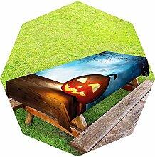 Halloween-Tischdecke für den Außenbereich,