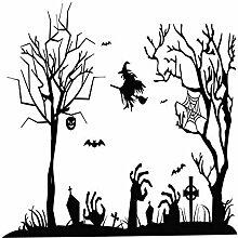 Halloween Wandaufkleber 88Cm * 57cm Wandaufkleber