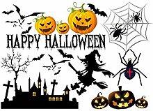 Halloween Wandaufkleber Halloween Fenster