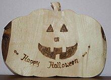 Halloweenfigur aus Zirbenholz - Dekoration Herbst, Halloween Zirbe