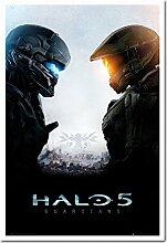 Halo 5Guardians Poster Kork Pinnwand Memoboard